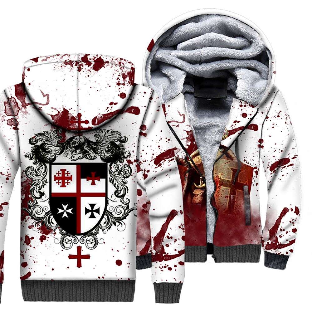 Knights Templar 3D All Over Printed Shirts For Men And Women