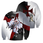 Load image into Gallery viewer, Knights Templar 3D All Over Printed Shirts For Men And Women 01