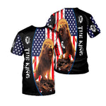 Load image into Gallery viewer, Lion 3D All Over Printed Shirts For Men And Women 02