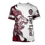 Load image into Gallery viewer, Red Lion Tattoo 3D All Over Printed Shirts For Men And Women 10