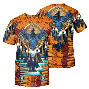 Native Pattern 3D All Over Printed Shirts For Men And Women 01