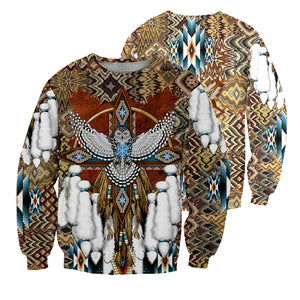 Native Pattern 3D All Over Printed Shirts For Men And Women 15