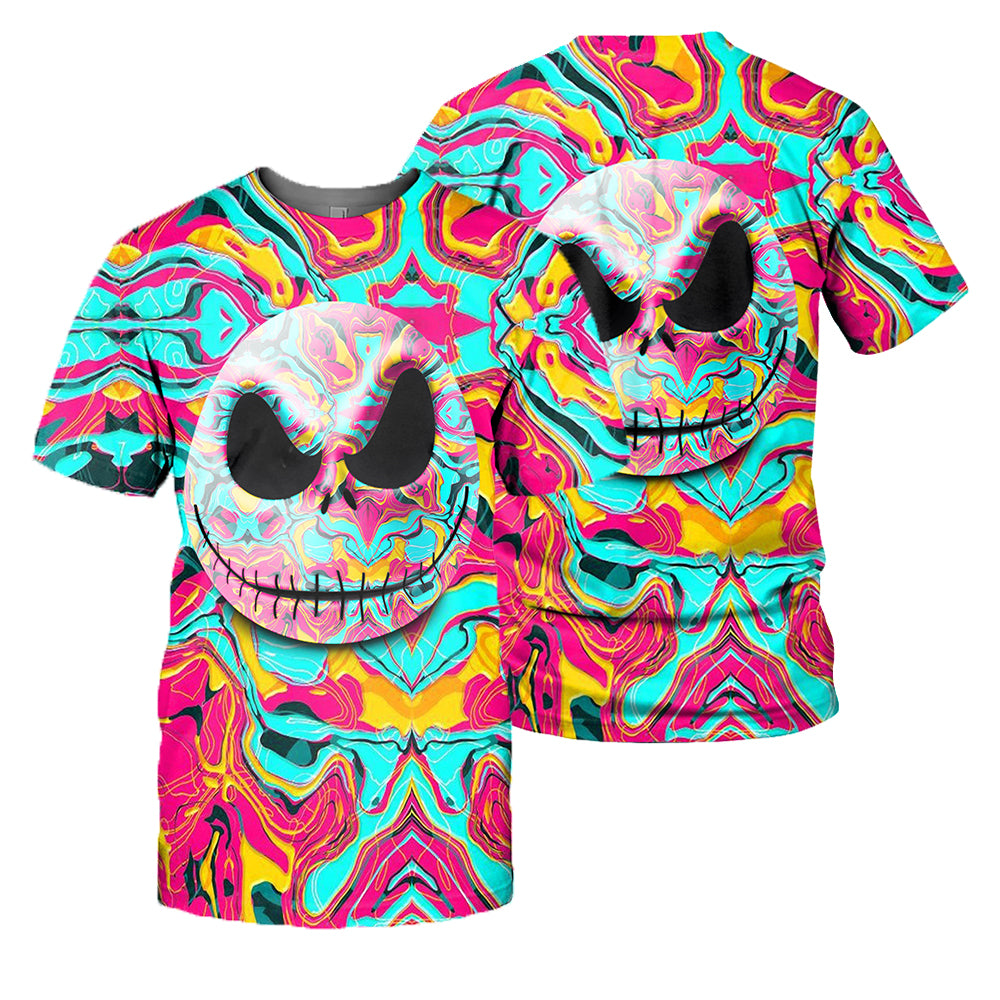 Jack Skellington 3D All Over Printed Shirts For Men And Women 09