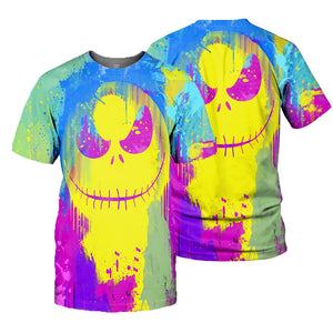 Jack Skellington 3D All Over Printed Shirts For Men And Women 32