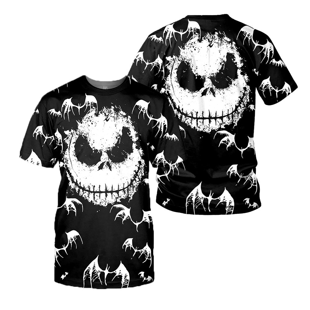 Jack Skellington 3D All Over Printed Shirts For Men And Women 151