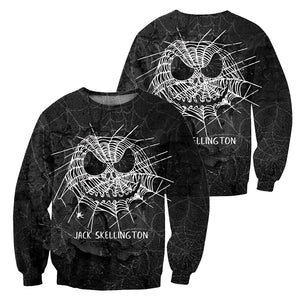 Jack Skellington 3D All Over Printed Shirts For Men And Women 155