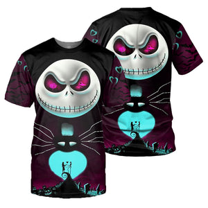 Jack Skellington 3D All Over Printed Shirts For Men And Women 167