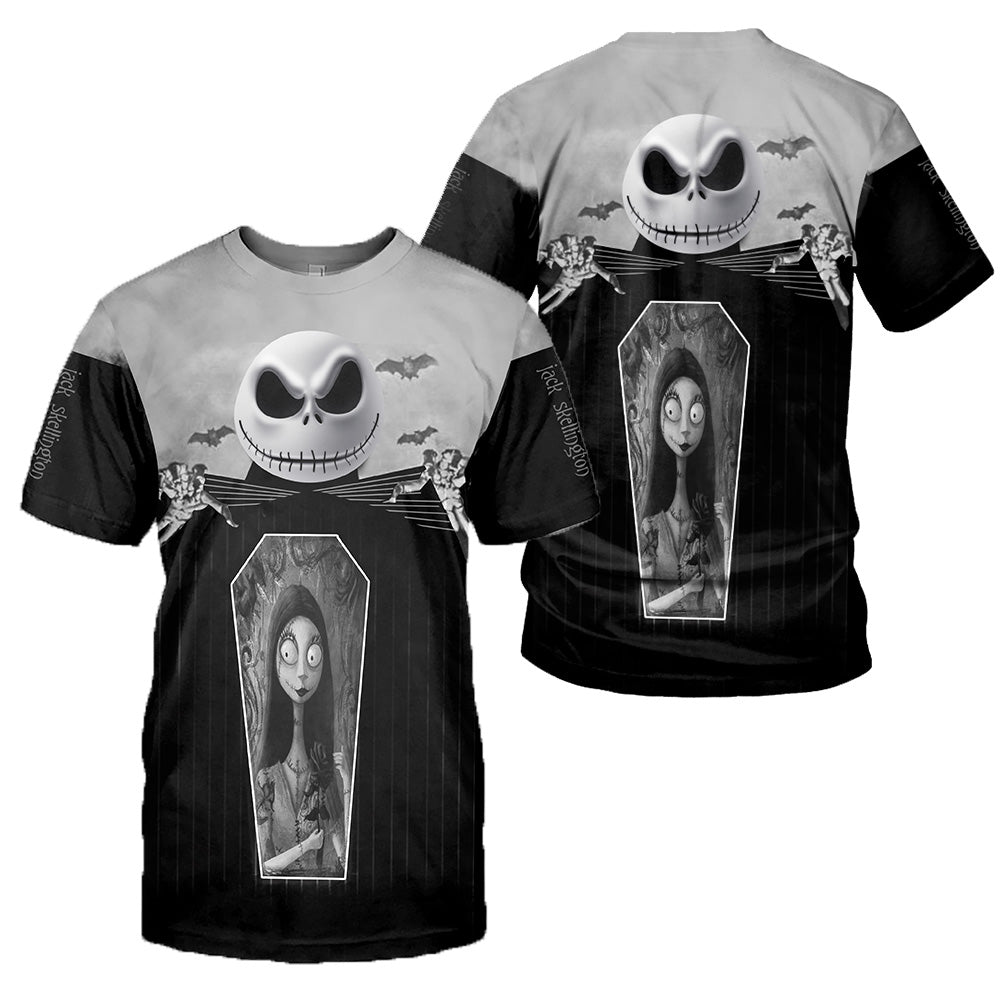 Jack Skellington 3D All Over Printed Shirts For Men And Women 184
