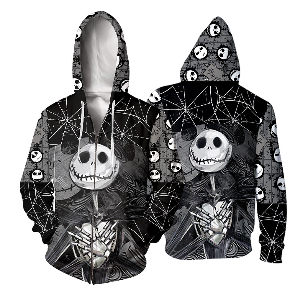 Jack Skellington 3D All Over Printed Shirts For Men And Women 239
