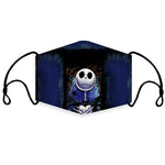 Load image into Gallery viewer, Jack Skellington Face Mask 240