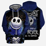 "Load image into Gallery viewer, Jack Skellington 3D All Over Printed Shirts For Men And Women - ""People Should Seriously, Stop Expecting Normal From Me, We All Know It's Never Going To Happen!"