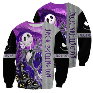 Jack Skellington 3D All Over Printed Shirts For Men And Women 242