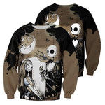 Load image into Gallery viewer, Jack Skellington 3D All Over Printed Shirts For Men And Women 252
