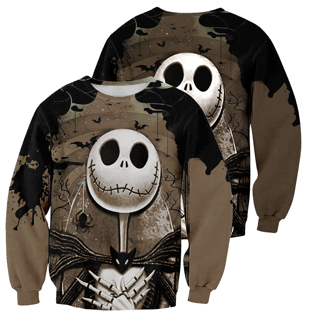 Jack Skellington 3D All Over Printed Shirts For Men And Women 254