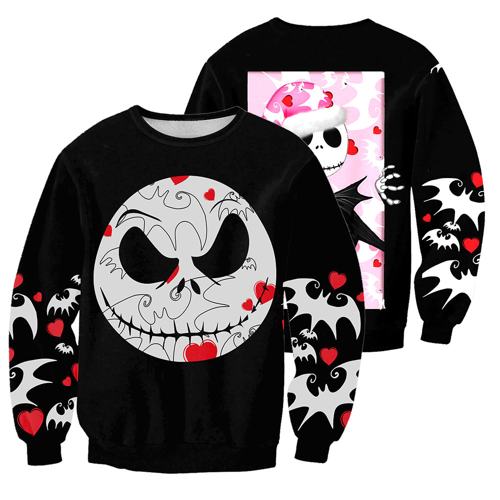 Jack Skellington 3D All Over Printed Shirts For Men And Women 263