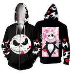 Load image into Gallery viewer, Jack Skellington 3D All Over Printed Shirts For Men And Women 263