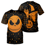 Load image into Gallery viewer, Jack Skellington 3D All Over Printed Shirts For Men And Women 278