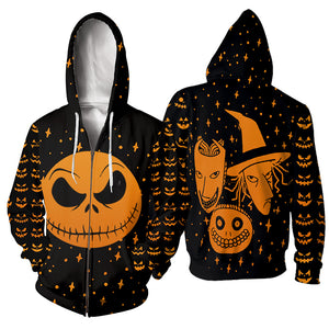 Jack Skellington 3D All Over Printed Shirts For Men And Women 278