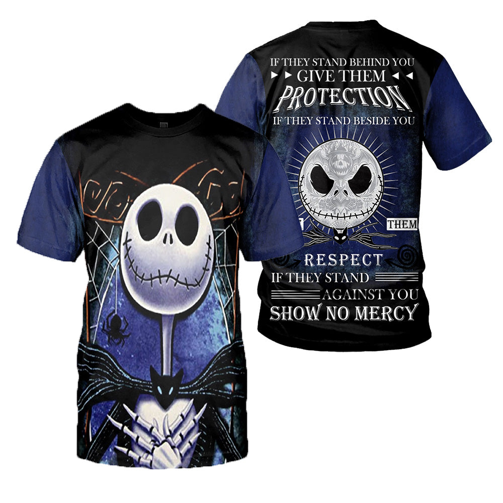 Jack Skellington 3D All Over Printed Shirts For Men And Women 282