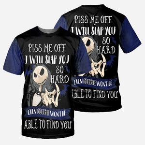 Jack Skellington 3D All Over Printed Shirts For Men And Women 308