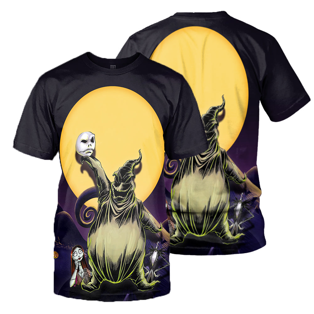 Jack Skellington 3D All Over Printed Shirts For Men And Women 319