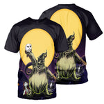 Load image into Gallery viewer, Jack Skellington 3D All Over Printed Shirts For Men And Women 319