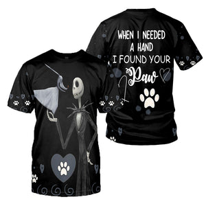 Jack Skellington 3D All Over Printed Shirts For Men And Women 341