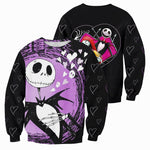 Load image into Gallery viewer, Jack Skellington 3D All Over Printed Shirts For Men And Women 344