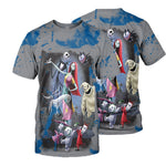 Load image into Gallery viewer, Jack Skellington 3D All Over Printed Shirts For Men And Women 456