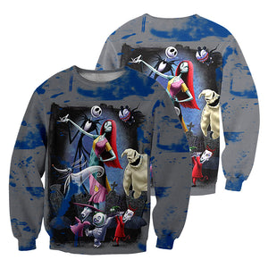 Jack Skellington 3D All Over Printed Shirts For Men And Women 456