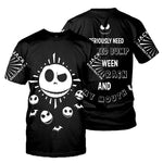 Load image into Gallery viewer, Jack Skellington 3D All Over Printed Shirts For Men And Women 373