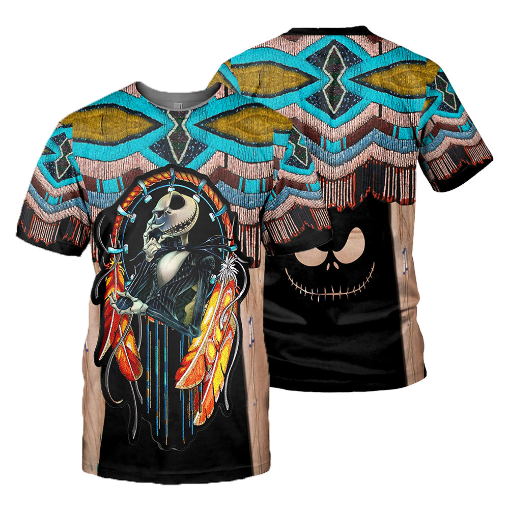 Jack Skellington 3D All Over Printed Shirts For Men And Women 386