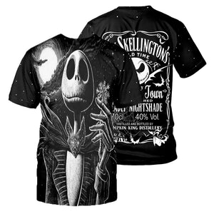 Jack Skellington 3D All Over Printed Shirts For Men And Women 421