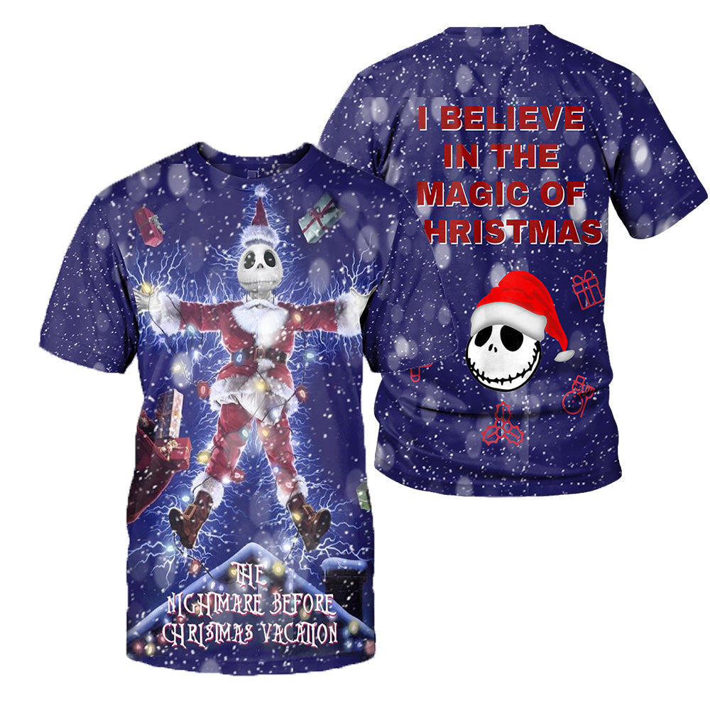 Jack Skellington 3D All Over Printed Shirts For Men And Women 424