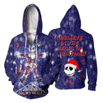 Load image into Gallery viewer, Jack Skellington 3D All Over Printed Shirts For Men And Women 424