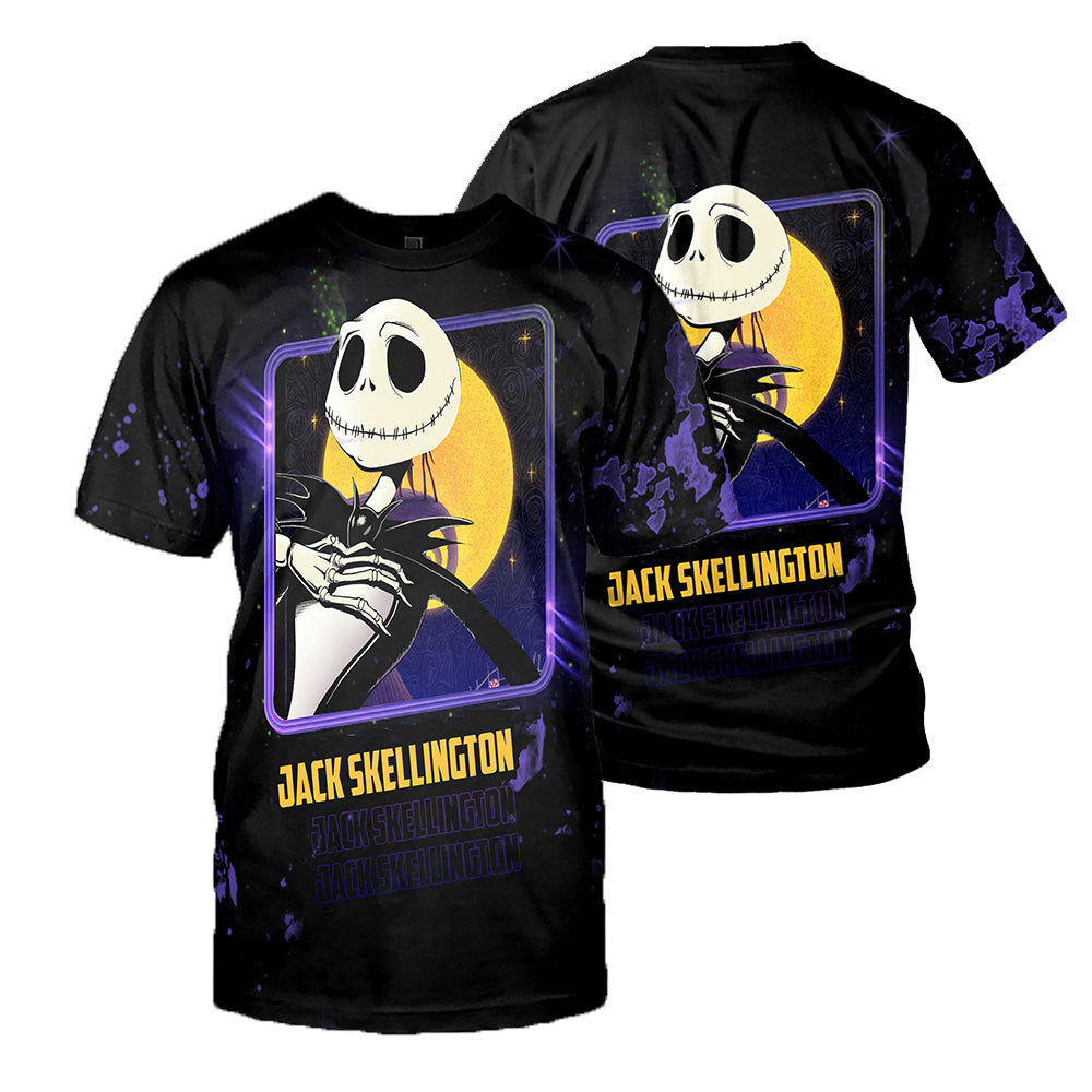 Jack Skellington 3D All Over Printed Shirts For Men And Women 429