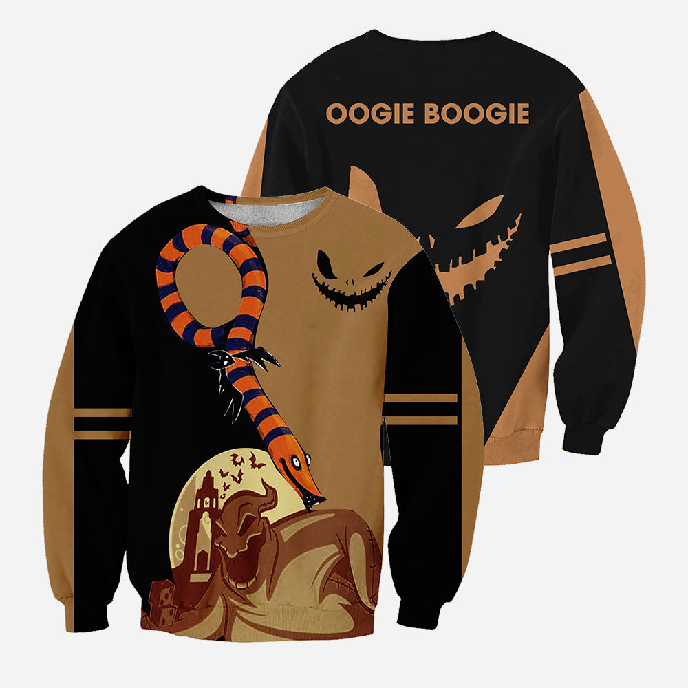 Oogie Boogie 3D All Over Printed Shirts For Men And Women 434