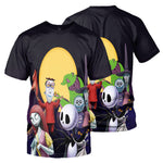 Load image into Gallery viewer, Jack Skellington 3D All Over Printed Shirts For Men And Women 460