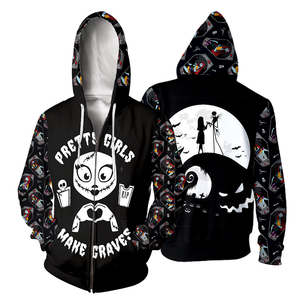 Jack&Sally Hoodie 3D All Over Printed Shirts For Men And Women 476