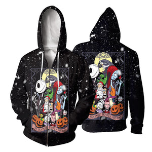 Jack Skellington Hoodie 3D All Over Printed Shirts For Men And Women 488