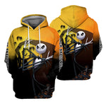 Load image into Gallery viewer, Jack Skellington Hoodie 3D All Over Printed Shirts For Men And Women 494
