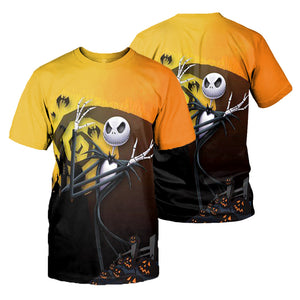 Jack Skellington Hoodie 3D All Over Printed Shirts For Men And Women 494