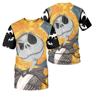Jack Skellington Hoodie 3D All Over Printed Shirts For Men And Women 495