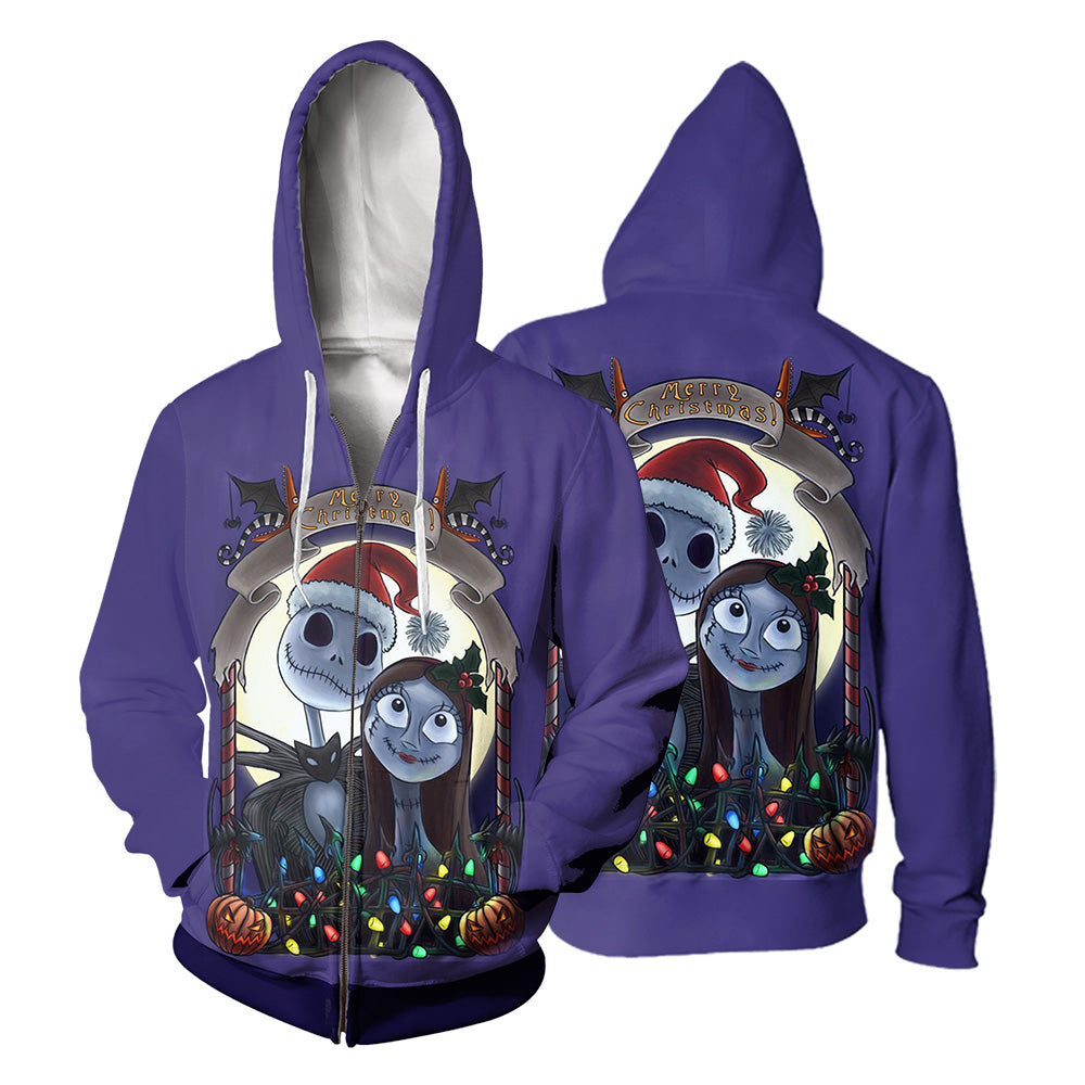 Jack Skellington Hoodie 3D All Over Printed Shirts For Men And Women 503