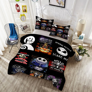 Bedding Set -  Jack Skellington 256