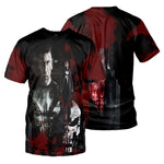 Load image into Gallery viewer, Punisher 3D All Over Printed Shirts For Men And Women 09