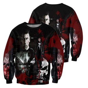 Punisher 3D All Over Printed Shirts For Men And Women 09
