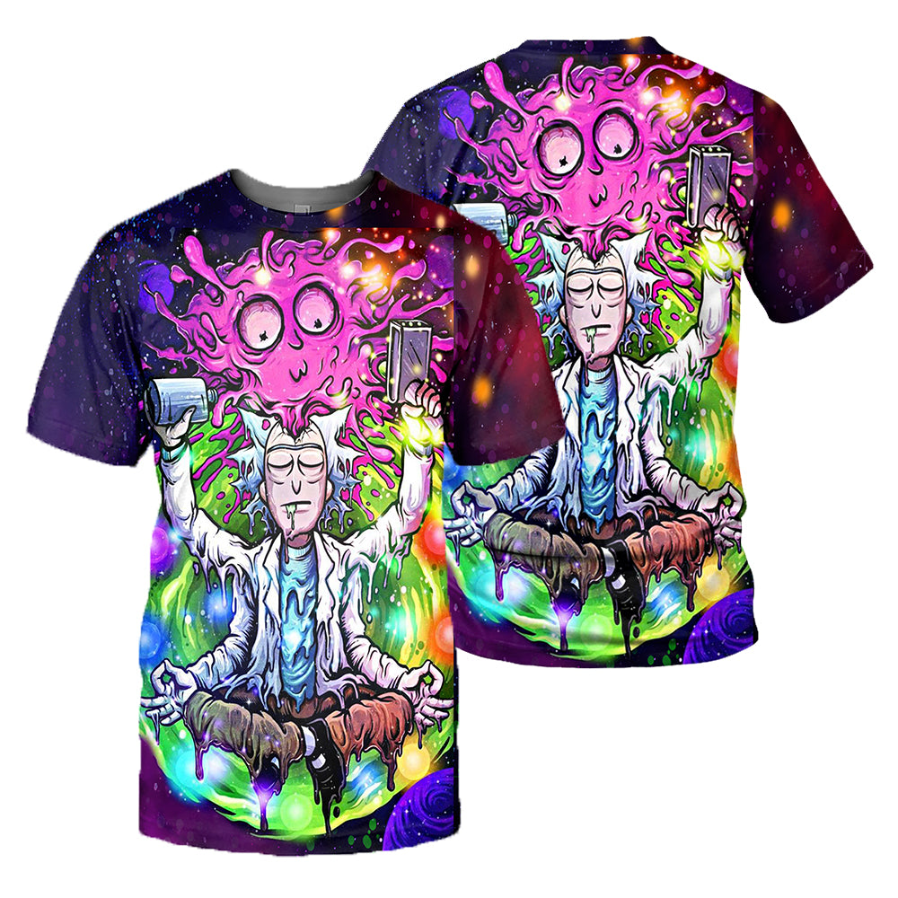 Rick And Morty All Over Printed Shirts For Men & Women 17