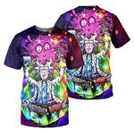 Load image into Gallery viewer, Rick And Morty All Over Printed Shirts For Men & Women 17