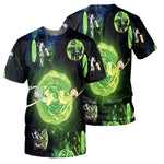 Load image into Gallery viewer, Rick And Morty All Over Printed Shirts For Men & Women 18
